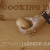 Cooking 101 - How to Julienne a Potato
