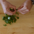 Cooking 101 - How to Garnish with Parsley