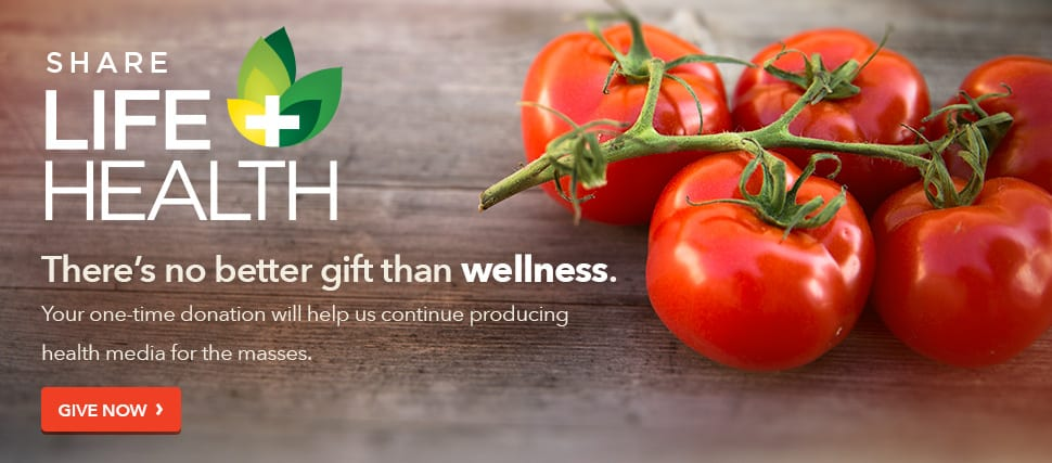 There's no better gift than wellness. Your one-time donation will help us continue producing health media for the masses.
