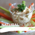 Natural Hummus with Roasted Garlic