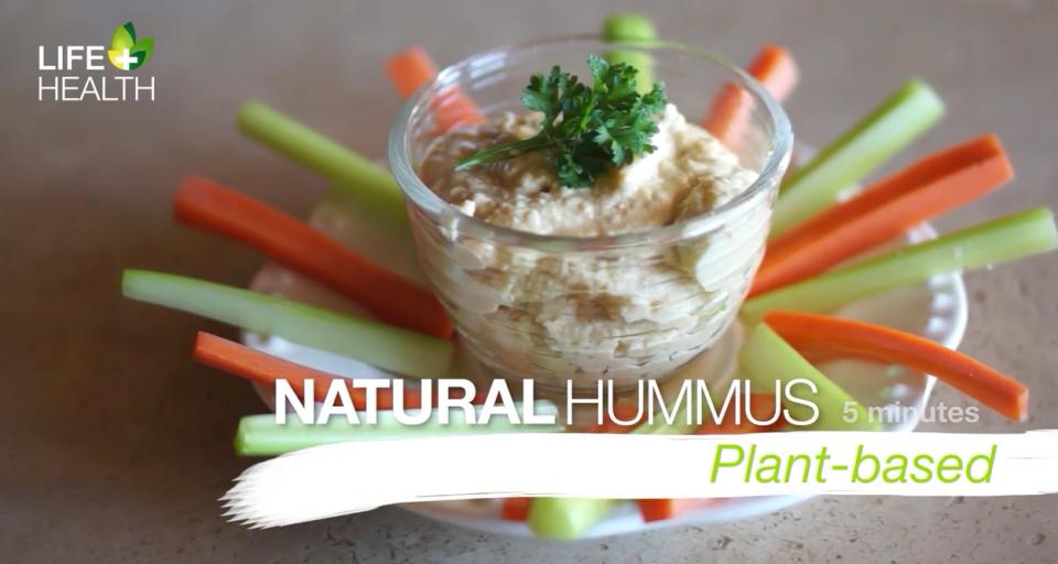 natural hummus