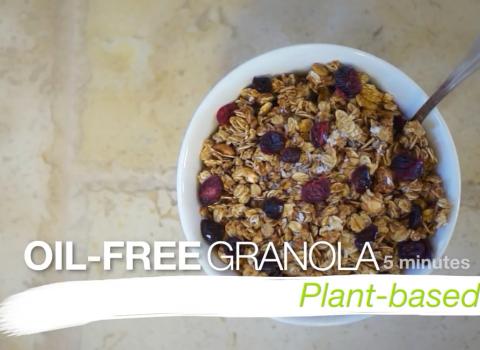 oil free granola