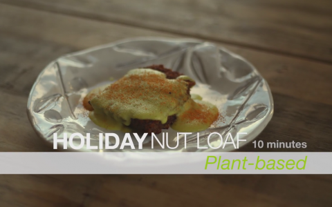 holiday nut loaf
