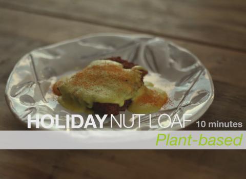 holiday nut loaf