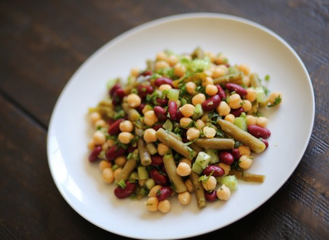 Speedy 3-Bean Salad