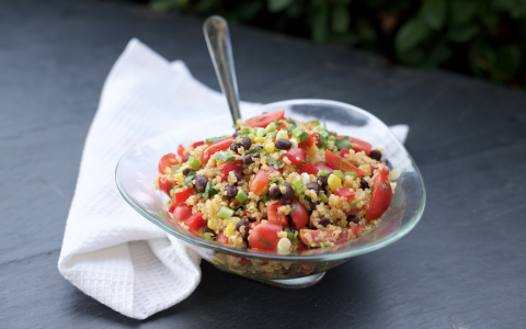 Protein-Packed Quinoa Salad