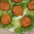 Sweet Potato Cake Lettuce Wraps