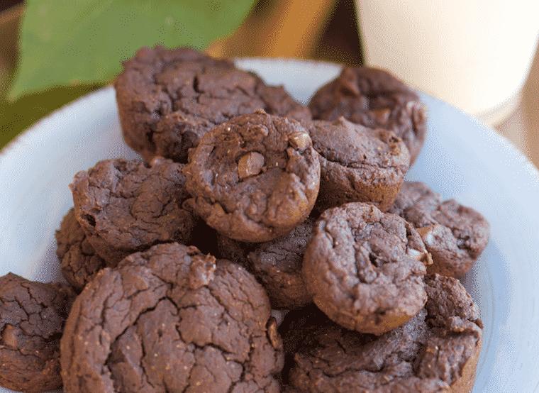 Secret Ingredient Brownie Bites