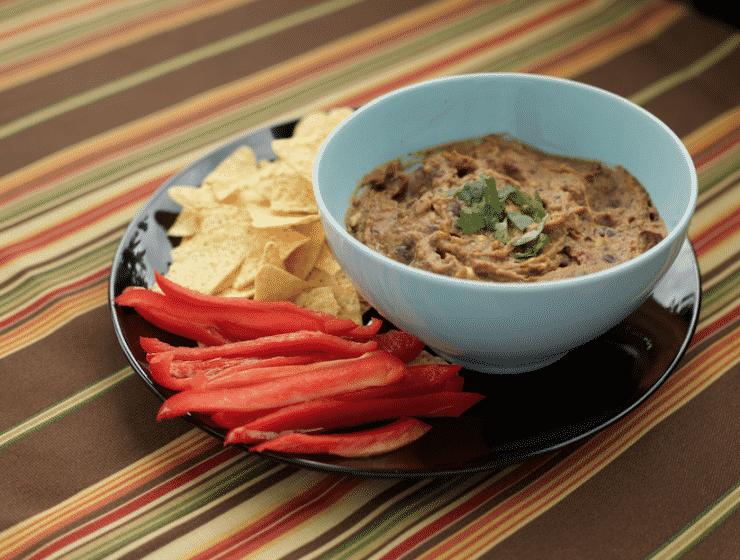 Black Bean Chipotle Dip