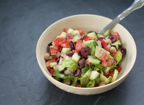 Ultimate Greek Chopped Salad