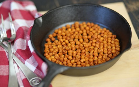 Spanish Roasted Garbanzos