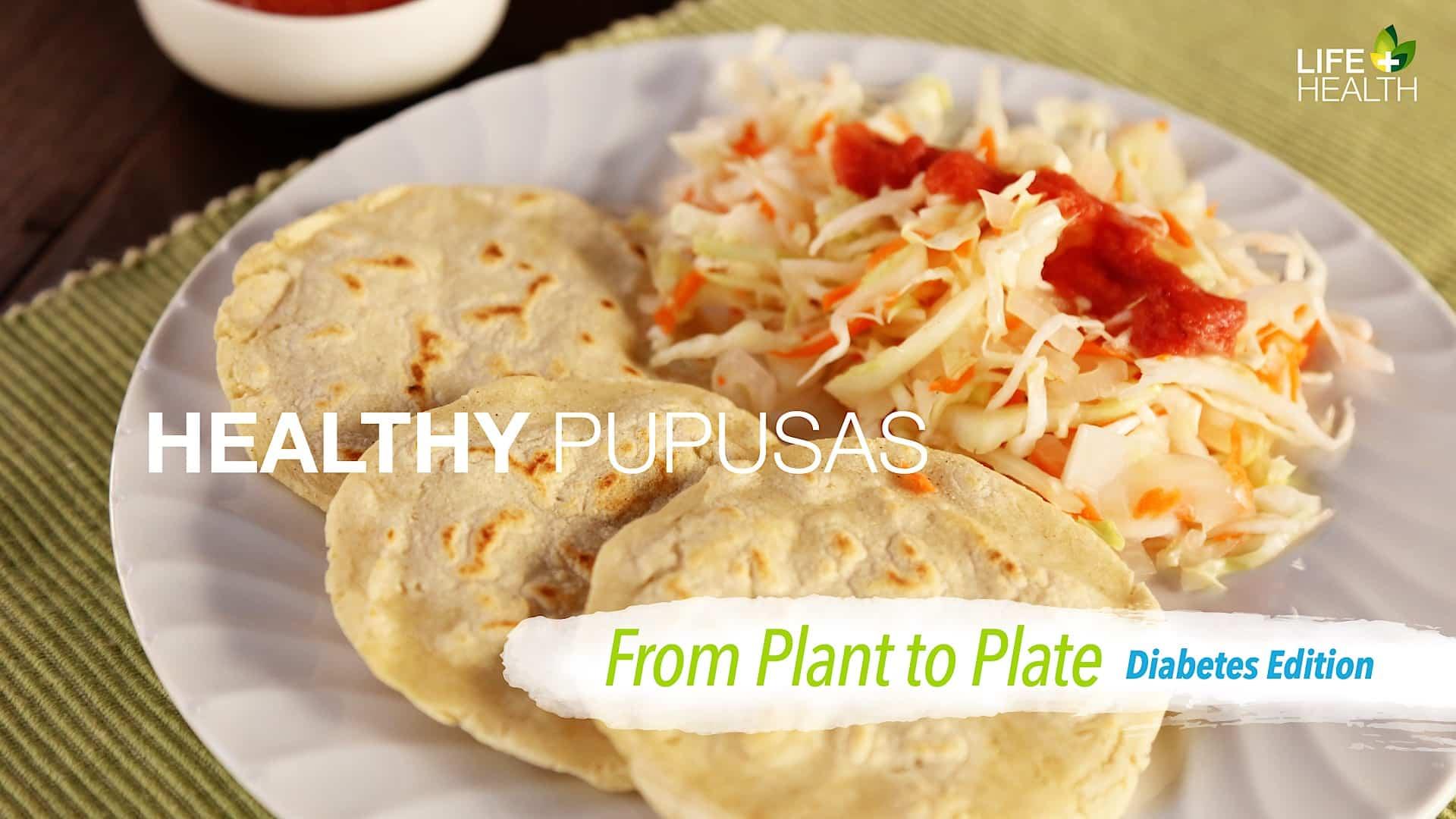 is pupusa good for diet